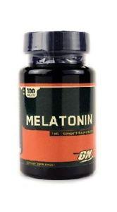 Optimum Nutrition Melatonin -- 3 mg - 100 Tablets