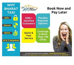 Bharat Taxi provides Car Rental Servicesfrom Indore Indore