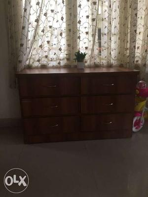 Chest of drawers sparingly used for 3 months. 6