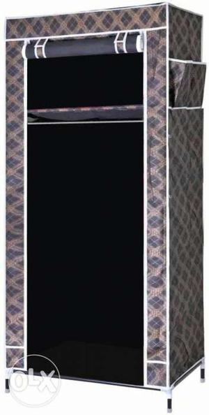 Evana Carbon Steel Collapsible Wardrobe