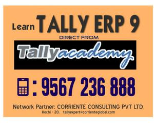 Learn Tally ERP 9 from Tally Academy Kochi