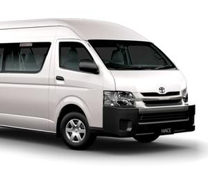 Toyota commuter cabs in bangalore for full day book