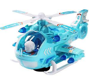 Battery Operated Helicopter with Sound & Lights, 360 degree