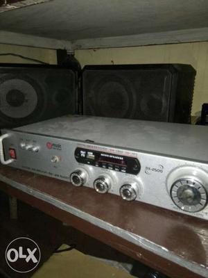 Gray Audio Receiver