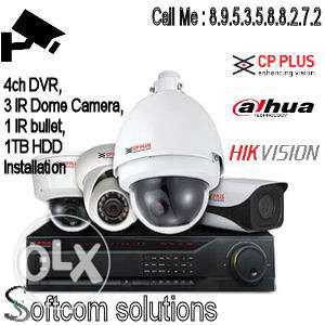 HD CCTV Camera Installation Only Rs