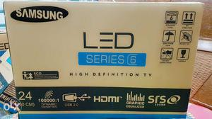 "SAMSUNG (24"") FULL HD LED Tv Series 6 Brand New"
