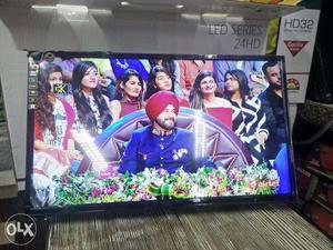 Samsung Led tv panel inside 24 inch led tv sealed box peace
