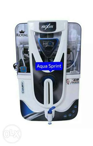 White And Black Nexus Aqua Sprint Water Purifier