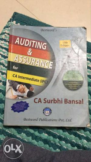 Best book for conceptual of Audit in Ipcc