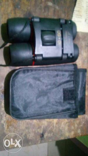 Black Binoculars With Case