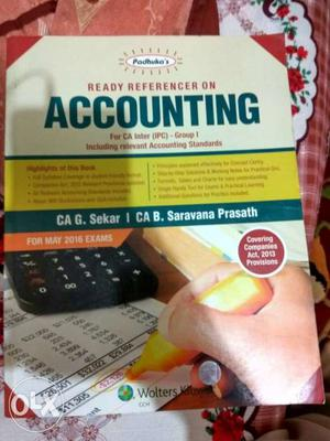 Ca-ipcc Accounts Padhuka Just For ₹400/- Only