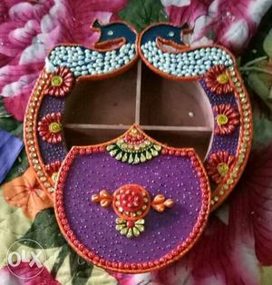 Dry fruit box.. handicraft itm r available