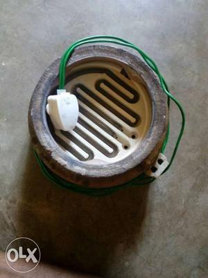 Electric Heater with FINOLEX WIRERING and new coil and base