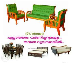 Elegant style fresh furniture on EMI scheme Free
