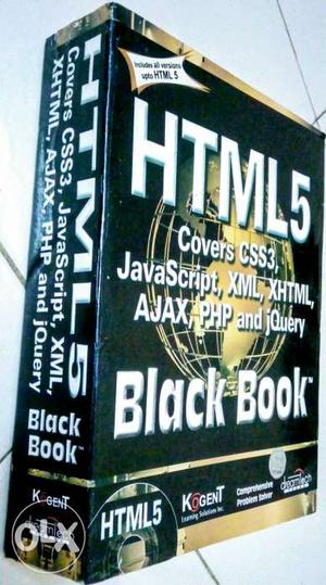 HTML 5 Black Book Paperback. Fresh piece and in