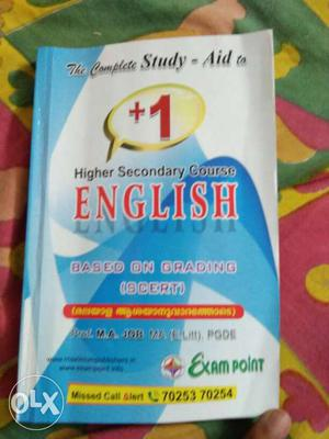 Higher Secondary Course English Book