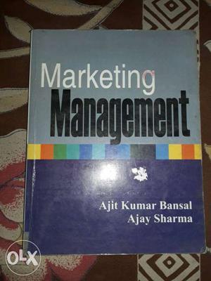 MBA Ist Sem Marketing Management By Ajay Sharma new