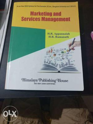 Marketing And Services Management Book