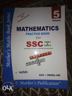 Mathematics Practice Book For SSC