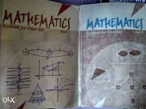 NCERT Mathematics Part 1 And 2 Books