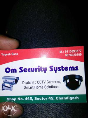 Om Security Systems Box