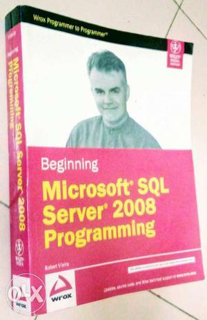 SQL Server  Programming Paperback copy in