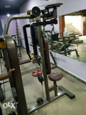 Used good condition commercial gym equipment leg