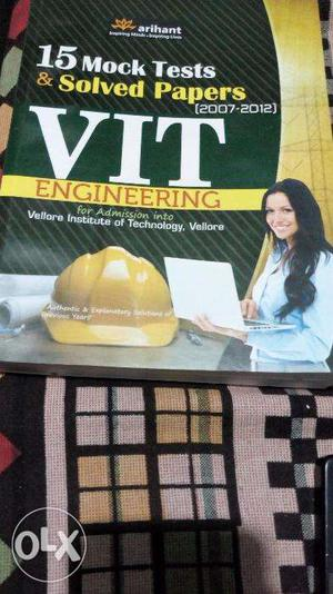 VITEE Entrance Exam Book with Solved papers and mock papers