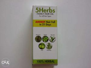 5 Herbs Family Hair Oil For Hairfall