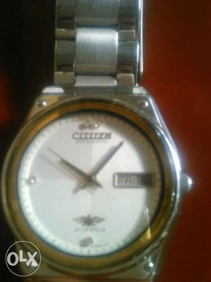 CITIZEN Atomatic day&date.good cadetion.