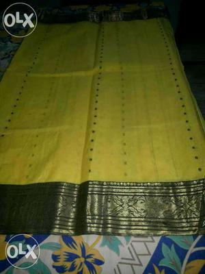 Famous Kolkatta pure cotton saree 6 metre with