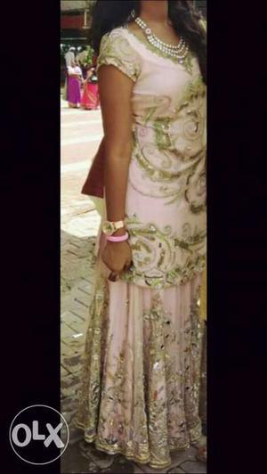 Heavy and branded lehenga on rent. for price and