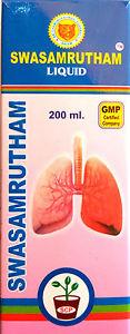 SWASAMRUTHAM SYRUP 200ML [AYURVEDIC] [FOR RESPIRATORY