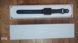 Apple Watch 42mm Case - Gold Aluminum With Sport Band