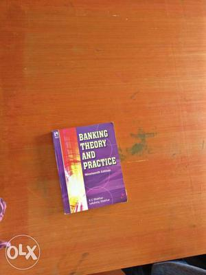 Banking Theory And Practice Book