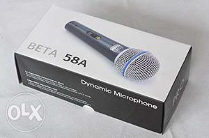 Beta 58A Dynamic Microphone Box