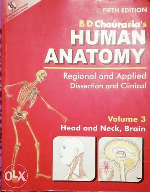 Human anatomy medical book
