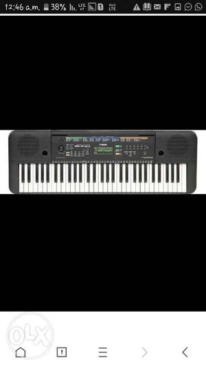I want to sell my yamaha keyboard in gud condition