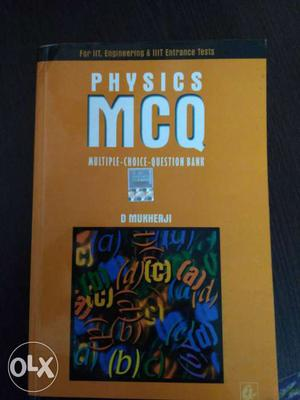 Physics MCQ (A decent book for all basic concept clearing