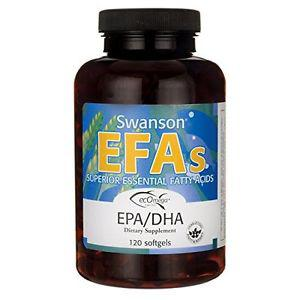 Swanson Ecomega Epa/Dha Fish Oil  mg 120 Sgels