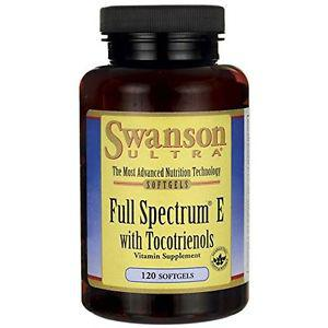 Swanson Full Spectrum E with Tocotrienols 120 Sgels