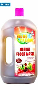 Aloe Clean Herbal Floor Wash  ml Contain Reetha +