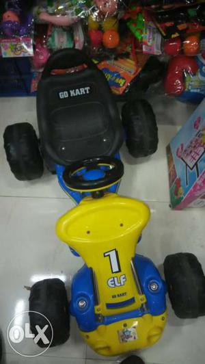 2 in 1 battery operated car with accelerator and