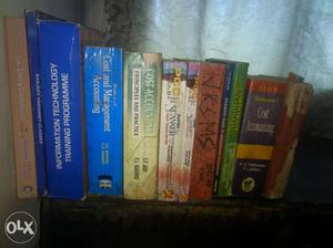 Accounting, Cost Accounting, IT Books available.