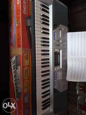 Casio piano. working condition.3 yrs old. less