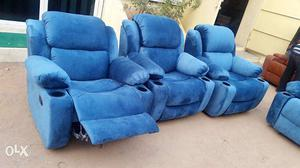 Customized RECLINERS, Leather sofa, Home Theater RECLINERS