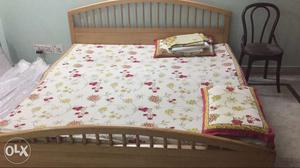 Double Bed With Mattresses. Urgent sale