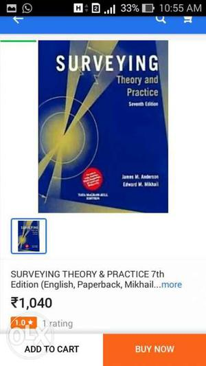 Surveying Theory And Practice Book Screenshot