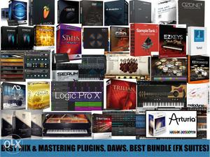 Vst Plugins, Music softwares Daws (best Suites/packs)