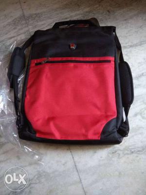 Brand new laptop back pack branded swiss utility